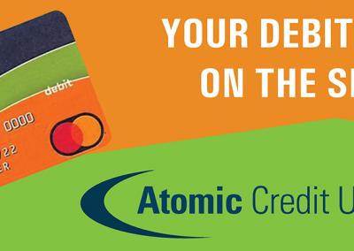 Atomic Credit Union Billboard