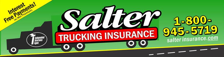 Salter Trucking Insurance Billboard