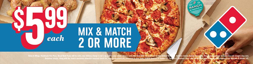 Domino's Pizza Billboard